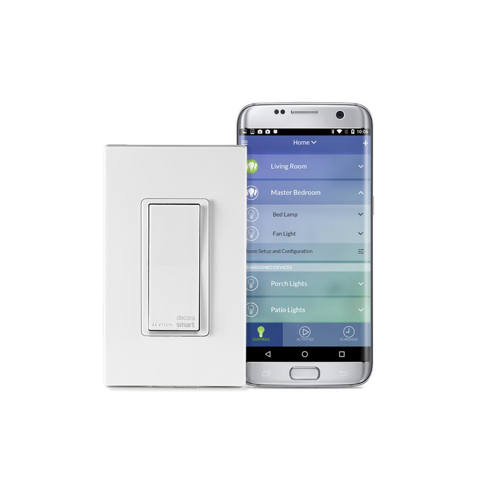 Leviton Decora Smart Wi-Fi 15 Amp Universal LED/Incandescent Switch, Works with Amazon... by Leviton