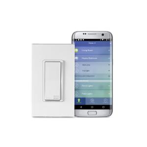 Leviton Decora Smart Wi-Fi 15A Universal LED/Incandescent Switch, No Hub Required, Works with Amazon Alexa and... by Leviton