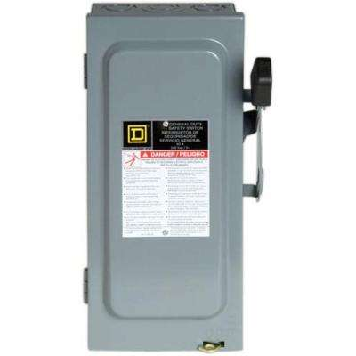 30 Amp 240-Volt 3-Pole 3-Phase Fused Indoor General Duty Safety Switch