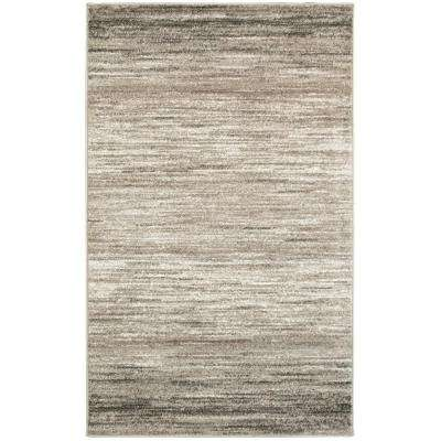 Matrix Light Beige/White Rectangle 5 ft. 2 in. x 7 ft. 2 in. Indoor Area Rug