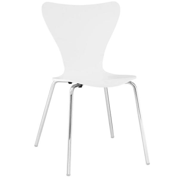 MODWAY Ernie White Dining Side Chair EEI-537-WHI