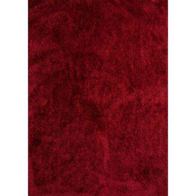 Bliss Nyssa Red 5 ft. 3 in. x 7 ft. 2 in. Area Rug