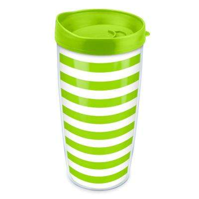 Lime Stripes 16 oz. Tumbler