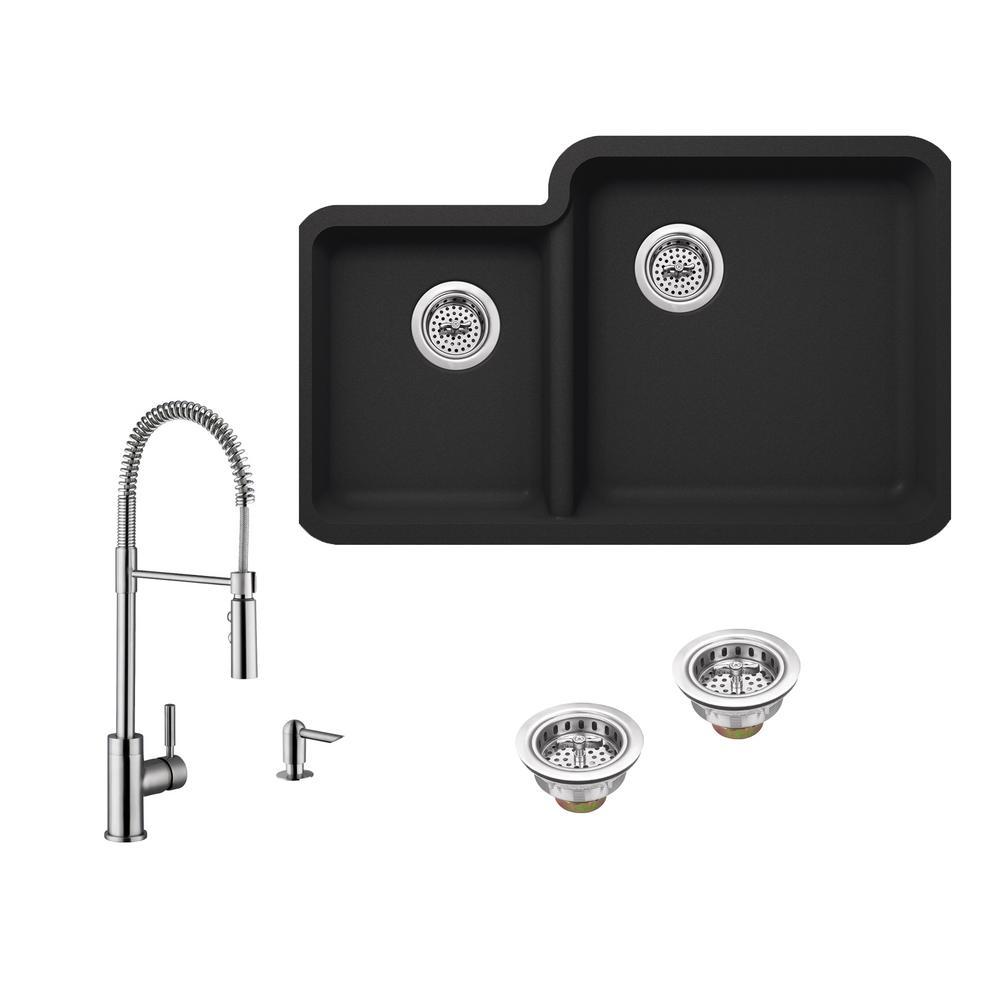 Luxury Black Granite Bar Sink