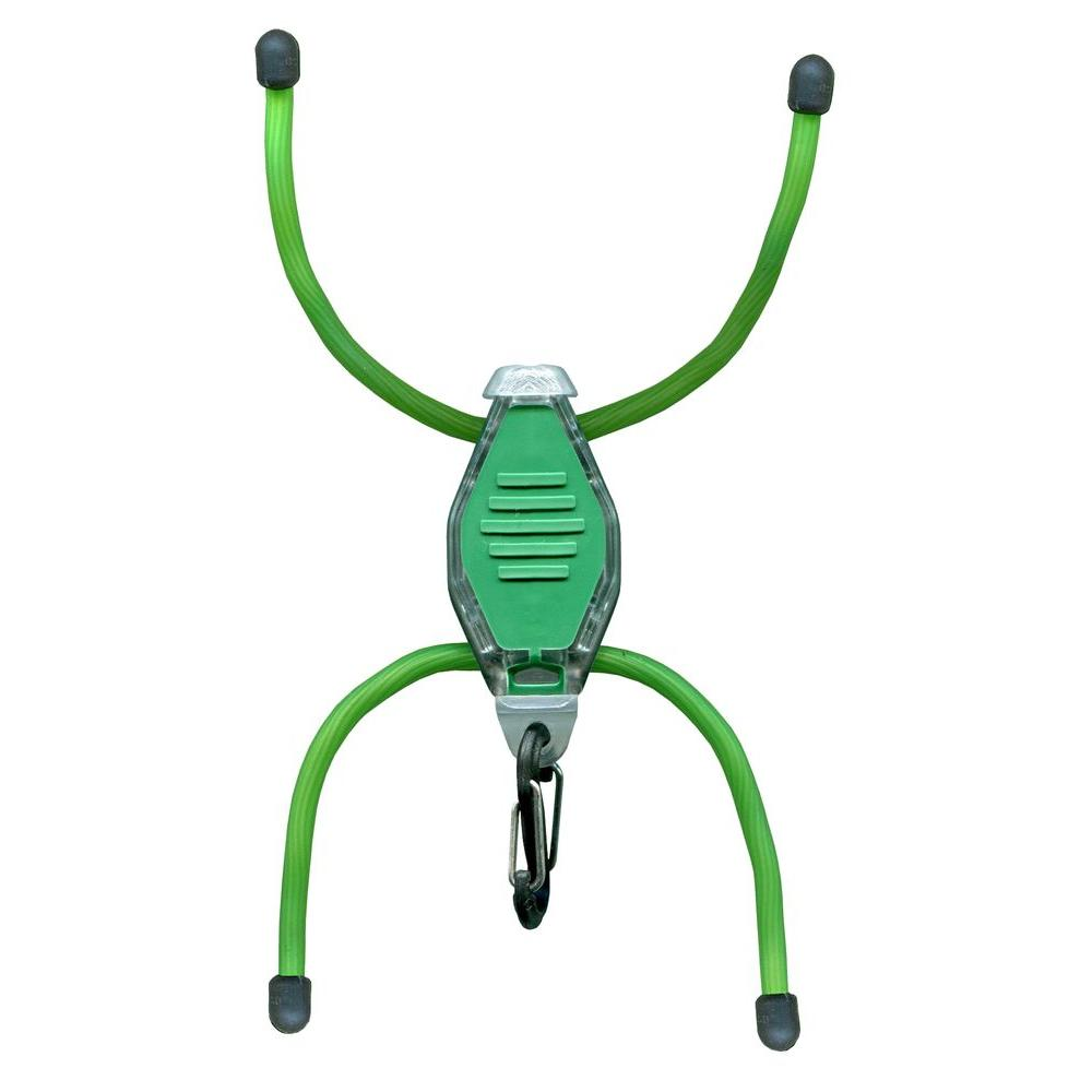 BugLit Green Clear Body/White LED Flashlight