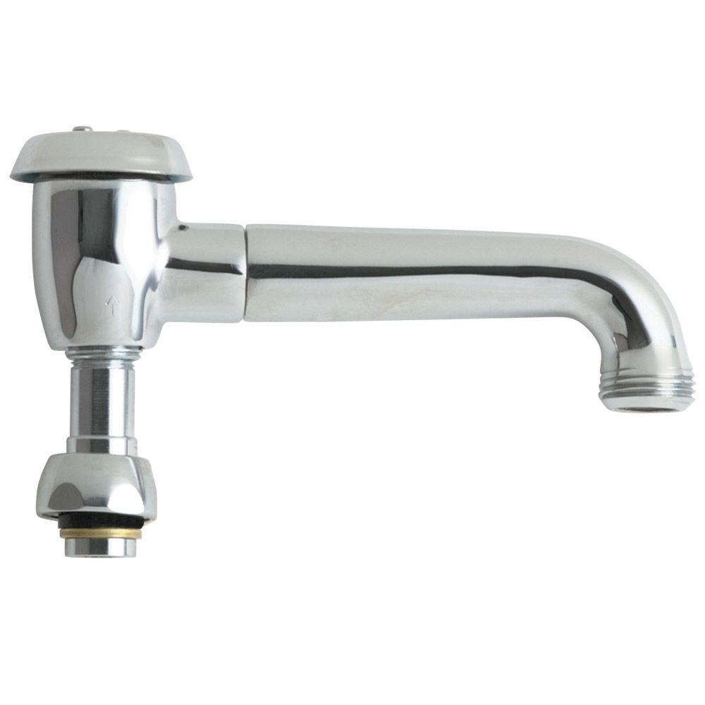 Chicago faucets in solid brass l type swing spout