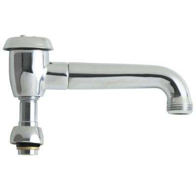 5-3/4 in. Solid Brass L Type Swing Spout with Atmospheric Vacuum Breaker