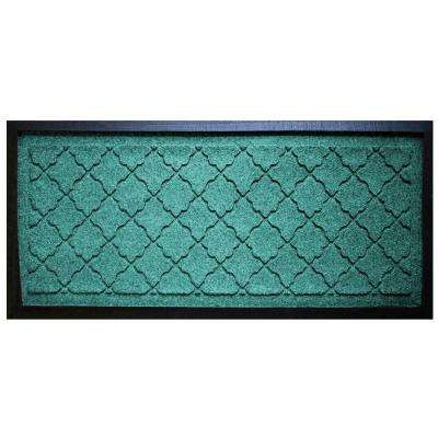 Aquamarine 15 in. x 36 in. Cordova Boot Tray