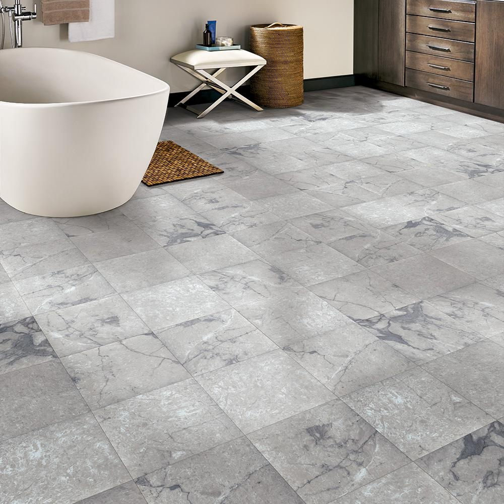 Trafficmaster Grey Marble 12 In Width