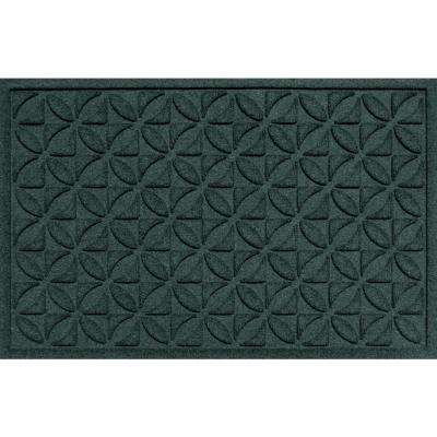 Wonderful Heritage Evergreen 24 In. X 36 In. Polypropylene Door Mat