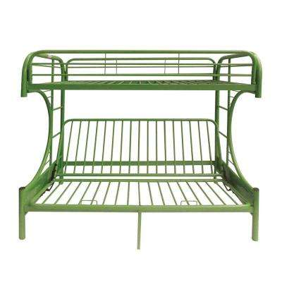 Eclipse Green Twin Over Full Metal Bunk Bed