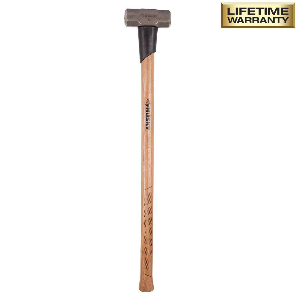 Husky 6 lb. Sledge Hammer with 36 in. Hickory Handle
