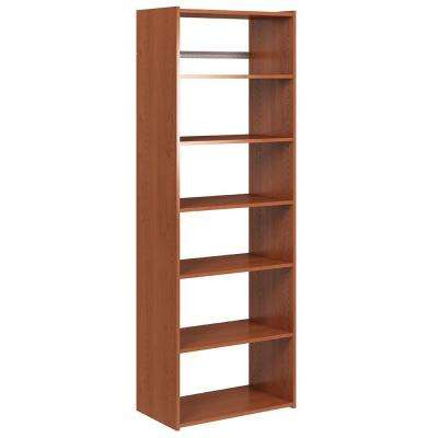 72 in. H x 24 in. W x 14 in. D Wild Cherry Essential Shelf Tower Kit