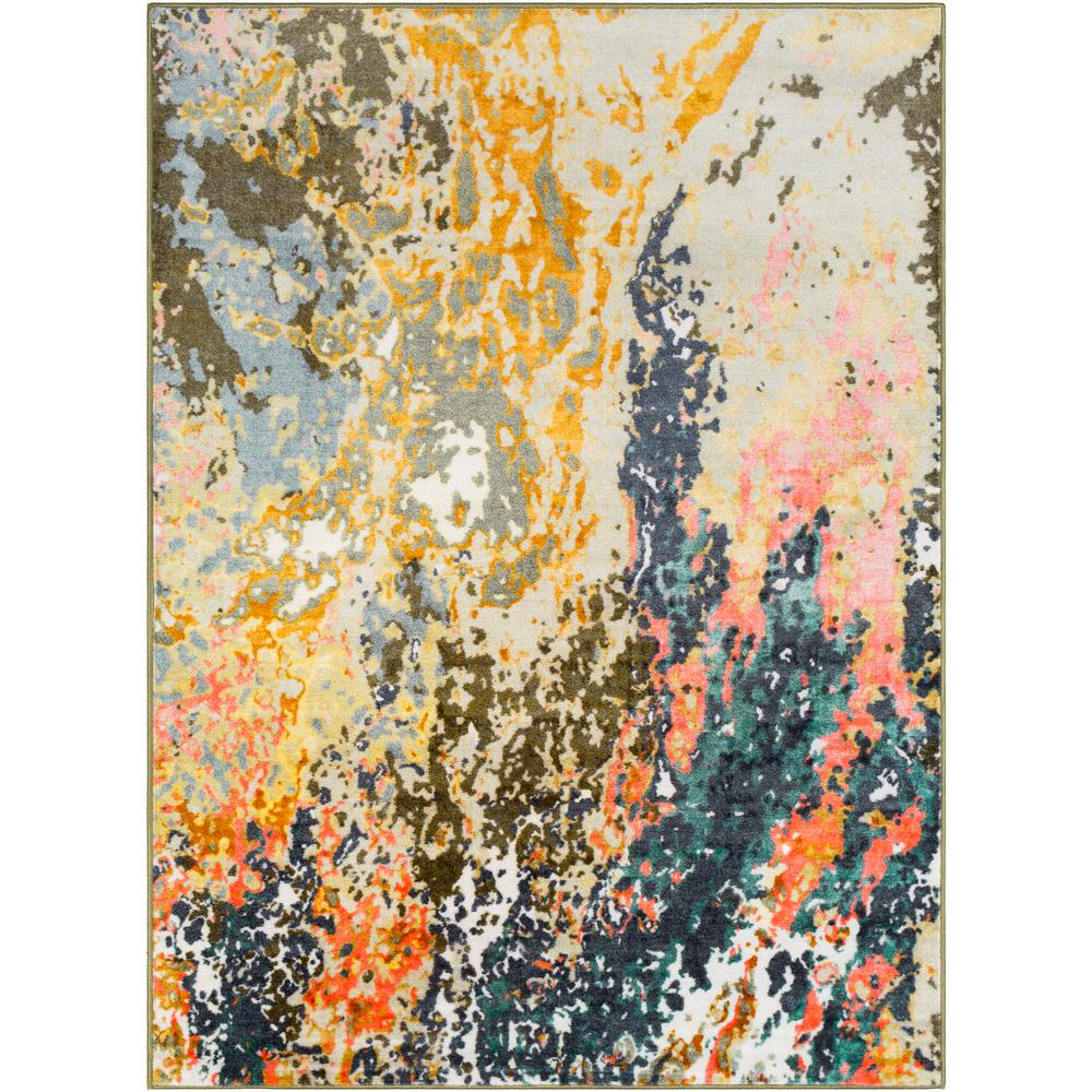 Artistic Weavers Kasimir Multi 7 ft. 10 in. x 10 ft. 3 in. Abstract Area Rug