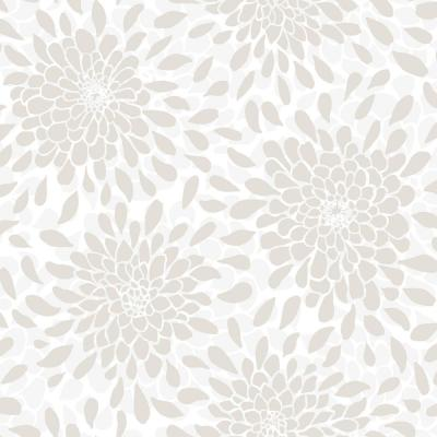 28.18 sq.ft. Toss The Bouquet Peel and Stick Wallpaper