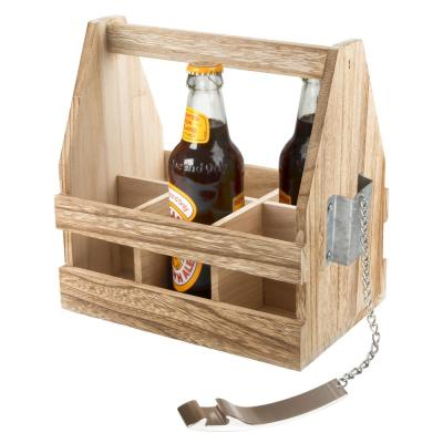 Mixology Beer Caddy with Opener