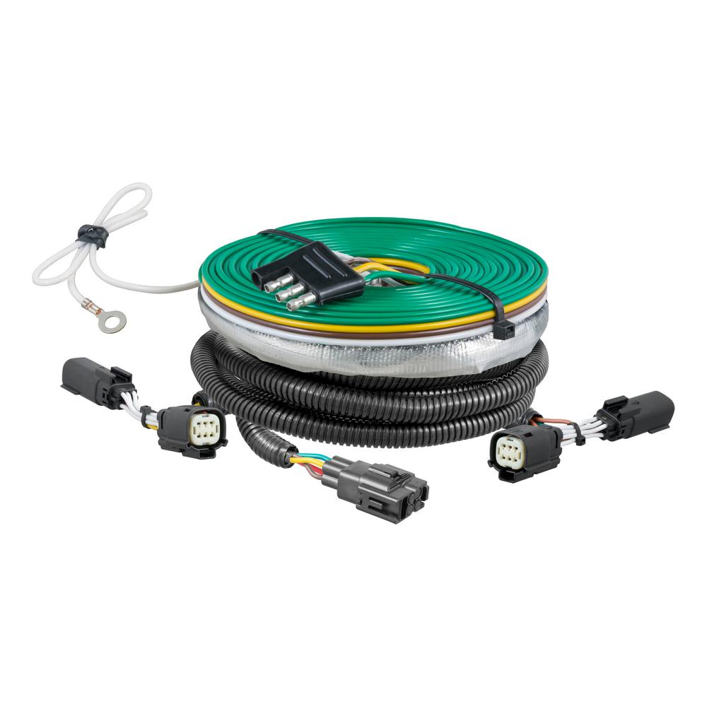 curt custom towed vehicle rv wiring harness 58941 the. Black Bedroom Furniture Sets. Home Design Ideas