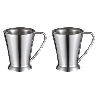 12 oz. Columbia Double Walled Stainless Steel Coffee Mugs (Set of 2)