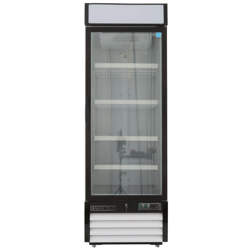 Maxx Cold X-Series 23 cu. ft. Single Door Merchandiser Refrigerator ...