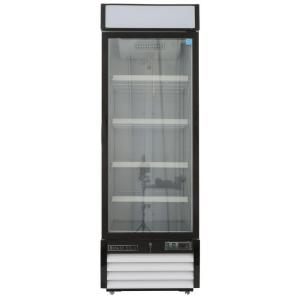 Maxx Cold X-Series 23 cu. ft. Single Door Merchandiser Refrigerator in White by Maxx Cold