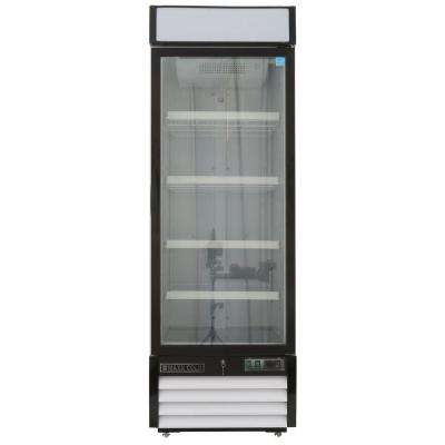 X-Series 23 cu. ft. Single Door Merchandiser Refrigerator in White