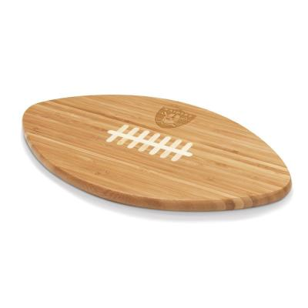 Oakland Raiders Touchdown Pro Bamboo Cutting Board
