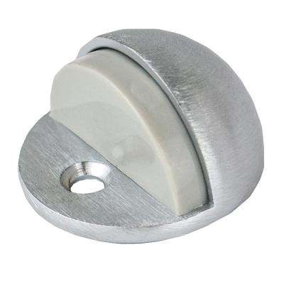 Satin Chrome Low Dome Door Stop