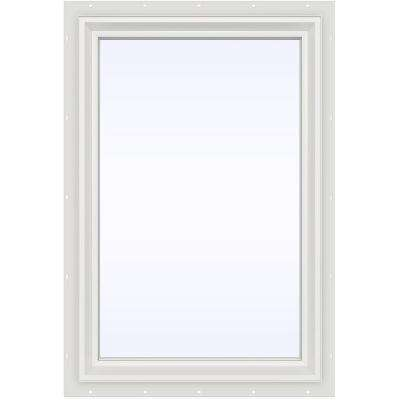 23.5 in. x 35.5 in. V-2500 Series Fixed Picture Vinyl Window - White