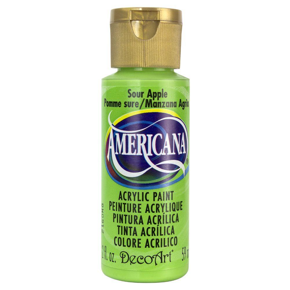 DecoArt Americana 2 oz. Sour Apple Acrylic Paint