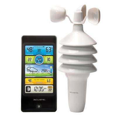 Pro Color Digital Weather Station with Wind Speed, Temperature and Humidity