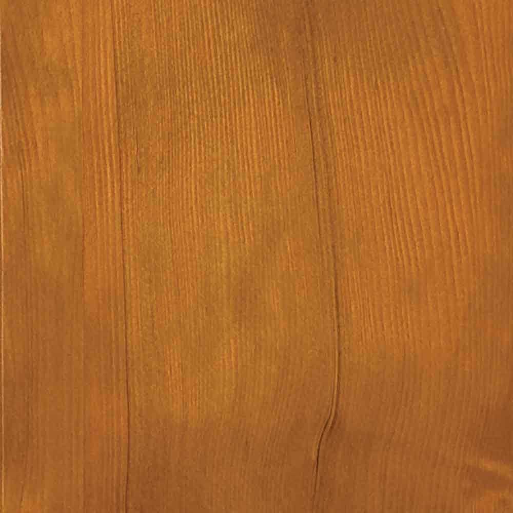 4 in. x 3 in. Wood Garage Door Sample in Hemlock with Natural 078 Stain