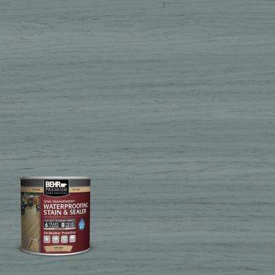8 oz. #ST-125 Stonehedge Semi-Transparent Waterproofing Exterior Wood Stain and Sealer Sample