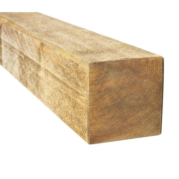 4 in. x 4 in. x 8 ft. #2 and Better Kiln Dried Douglas Fir Lumber