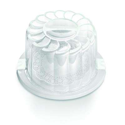 28 cm White Cake Holder/Carrier