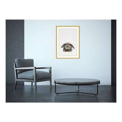 21.00 in. W x 29.00 in. H Rabbit II by Tai Prints Printed Framed Wall Art