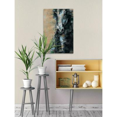 """60 in. H x 40 in. W """"Black Vision"""" by Marmont Hill Canvas Wall Art"""