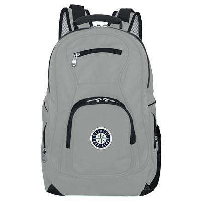 MLB Seattle Mariners 19 in. Gray Laptop Backpack