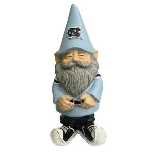 Evergreen University of North Carolina Garden Gnome by Evergreen