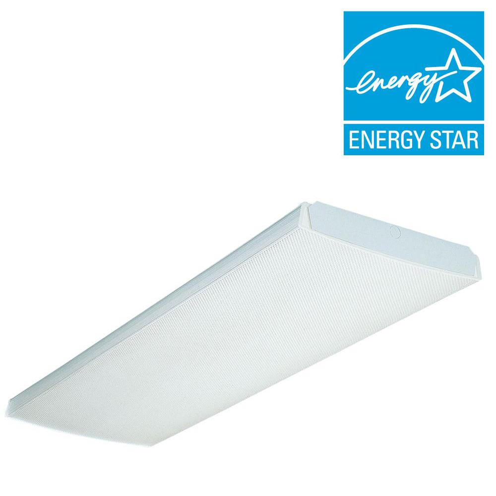 LB 4 32 MVOLT 1/4 GEB10IS 4 ft. 4-Light Gloss White