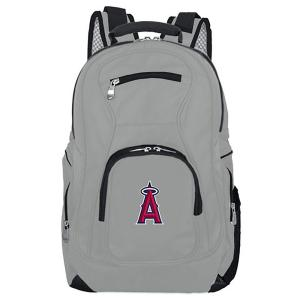 MLB Los Angeles Angels 19 in. Gray Laptop Backpack
