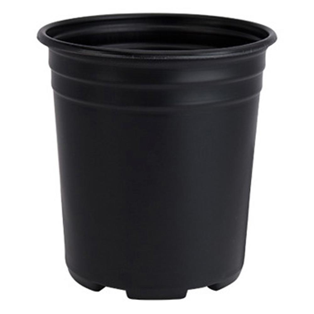 Black Therrmed Nursery Pot