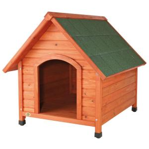 Trixie Log Cabin Large Dog House 39532 The Home Depot