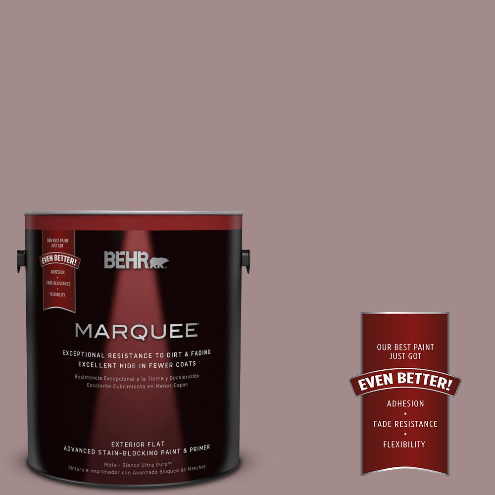 BEHR MARQUEE 1-gal. #PPU17-15 Cameo Rose Flat Exterior Paint