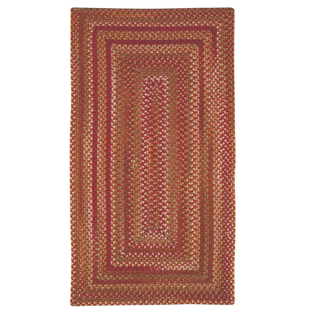 Capel Applause Concentric Rosewood 8 ft. x 11 ft. Area Rug