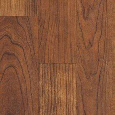 Native Collection Wild Cherry Laminate Flooring - 5 in. x 7 in. Take Home Sample