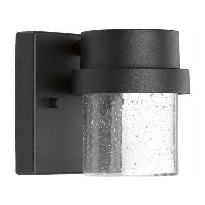 Z-1060 Black 4.5 in. Outdoor Integrated LED Wall Lantern Sconce