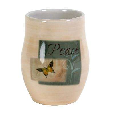 Tranquility Free Standing Tumbler in Spice