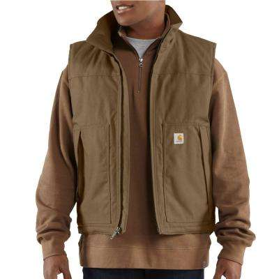 Men's Extra Large Canyon Brown Cotton/Polyester Quick Duck Jefferson Vest