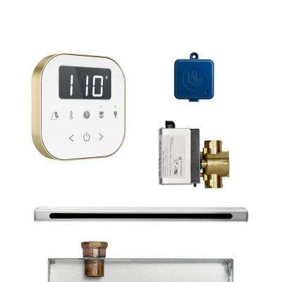 AirButler Linear Package White Brushed Bronze