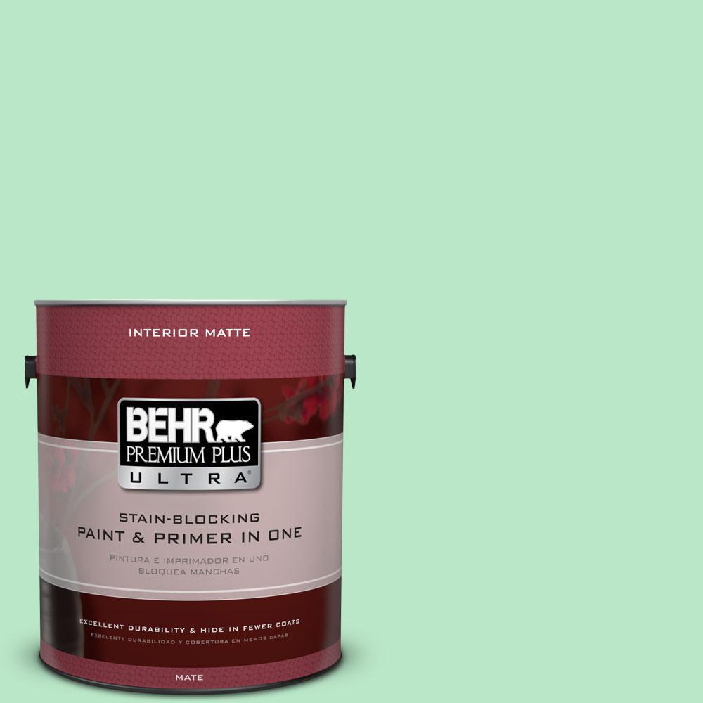 1 gal. #460A-3 Canton Jade Flat/Matte Interior Paint